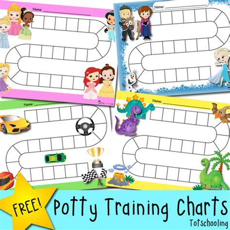 potty training progress reward charts totschooling toddler preschool kindergarten
