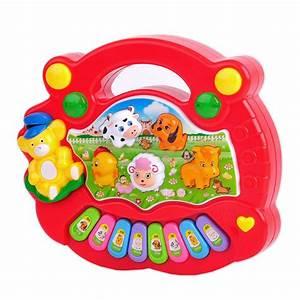Baby Musik Spielzeug : musik spielzeug klavier cartoon tiere elektronisch instrument babyspielzeug neu ebay ~ Orissabook.com Haus und Dekorationen