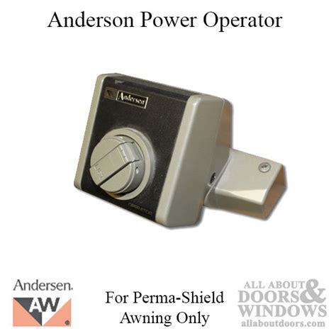 andersen power supply  electric awning roof window