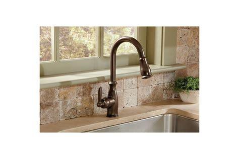 Moen Brantford Kitchen Faucet 7185srs by Faucet Com 7185c In Chrome By Moen