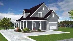 Facade Maison Grise : maisons lg bois louisiane ~ Melissatoandfro.com Idées de Décoration
