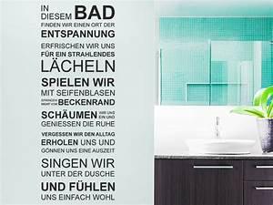 Wandtattoo Bad Günstig : wandtattoo bad von ~ Markanthonyermac.com Haus und Dekorationen