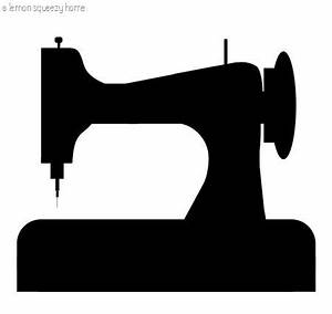 Sewing Machine Silhouette Graphic: Free Download