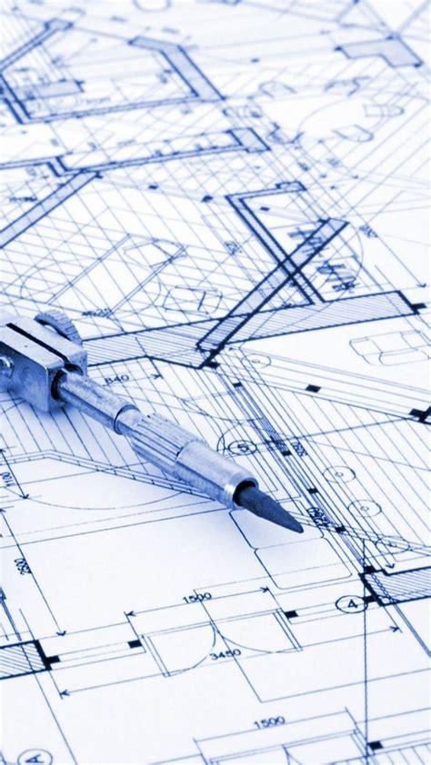 architecture design compass blueprint wallpaper