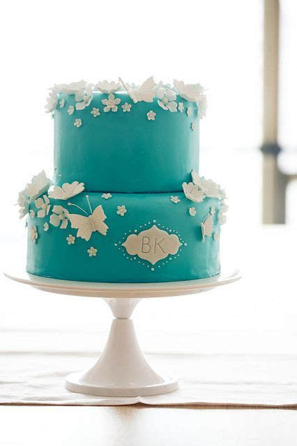 picture  tiffany blue wedding cake ideas