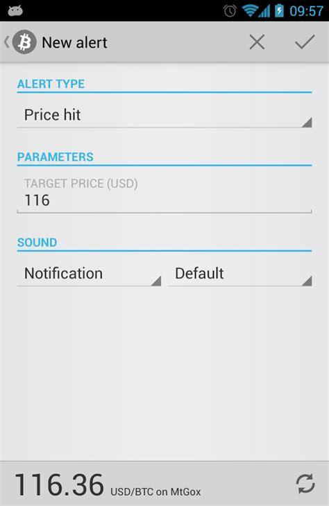 bitcoin alert apk android  app  feirox