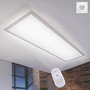 Led Deckenleuchte Dimmbar Farbwechsel : led panel farbwechsel dimmbar fernbedienung 120x30 33 watt ~ Watch28wear.com Haus und Dekorationen