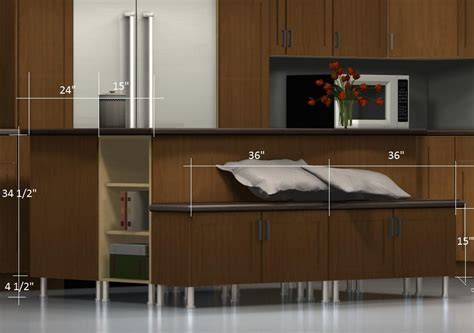 Kitchen Island Configurations: A Bench on the Back with a