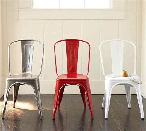 tolix caf 233 chair industrial dining chairs by pottery