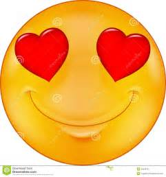 Love Smiley Face Cartoon
