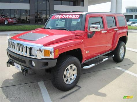 2007 Sonoma Red Metallic Hummer H3 #29957452