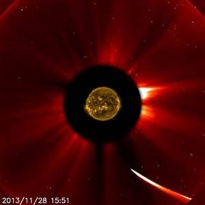 Comet ISON at 10:51 a.m. EST on Nov. 28, 2013 | NASA