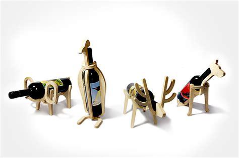 animal wine holder animal wine rack the awesomer