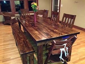 Rustic Farmhouse Dining Table Room