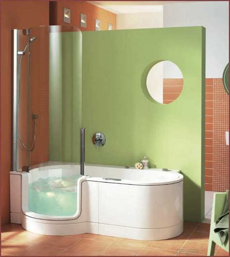 4 Foot Bathtubs by Walk In Bathtub And Shower Combo Home Design Ideas