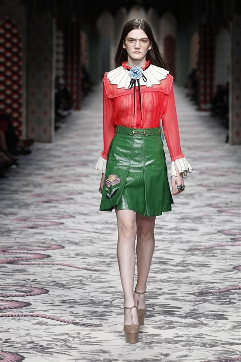 gucci spring summer womenswear collection milano