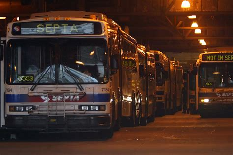 septa bus services planned  city  burbs philly