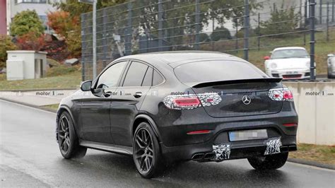 Is amg's rapid glc 63 suv the answer to your prayers, or to a question nobody's asking? 2020 Mercedes-AMG GLC 63 Coupe facelift spy photo - 3352943