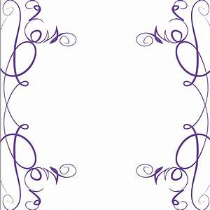 Purple Swirls Clipart (37+)