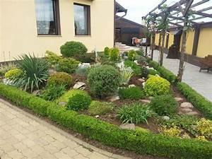 Blumen Für Steingarten : ideen gestaltung steingarten hang kunstrasen garten ~ Sanjose-hotels-ca.com Haus und Dekorationen