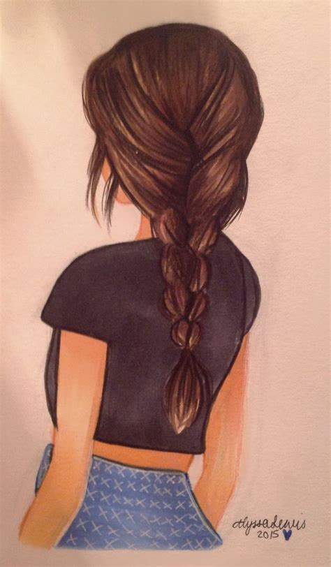 Girl Hair Drawing Drawing Cool Pictures Of Girl Cool Girlmidorichitose On