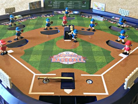 pinball tabletop baseball game   huge hit