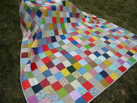 patchwork quilts patchwork quilt square king size 106x106 classic americana