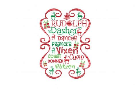 I give you step by step directions on how to take a basic cartoon graphic and turn it into a layer svg file, that will become suitable for importing into. Christmas Reindeer Cricut Designs SVG F   Design Bundles