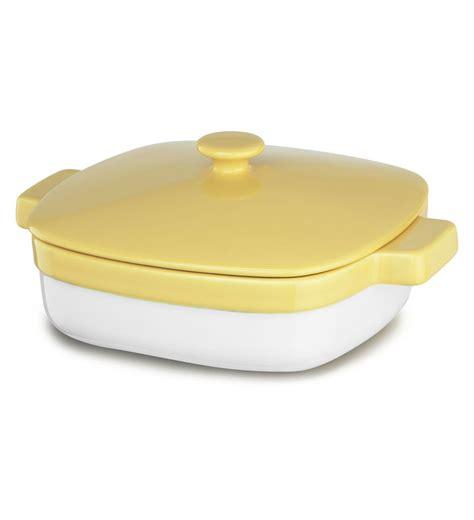 casserole dishes kitchenaid ceramic 1 9 quart casserole dish with lid kblr19cr ebay
