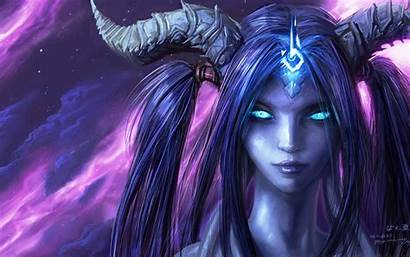 Demon Female Background