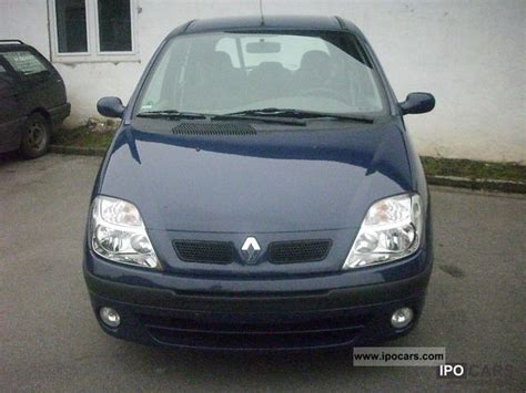 renault scenic 2002 specifications 2002 renault scenic 1 4 16v authentique summertime car