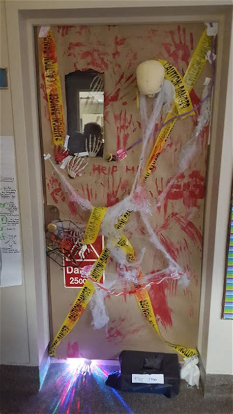 Scary Door Decorating Contest Ideas by Sagonaska School Door Decorating Contest