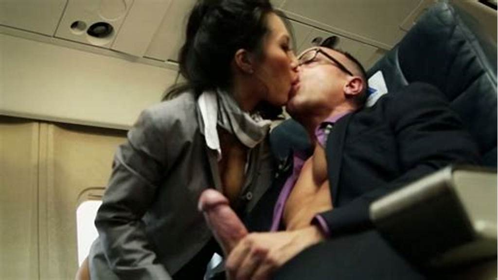 #Two #Slutty #Stewardesses #Serves #All #Passengers #On #A #Board
