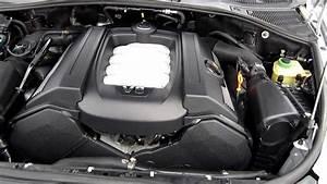 2004 Volkswagen Touareg V8  Silver - Stock  L037010 - Engine