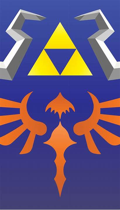 Iphone Zelda Hylian Shield Triforce Legend Smartphones
