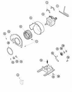Motor  U0026 Fan Diagram  U0026 Parts List For Model Sdg515daww