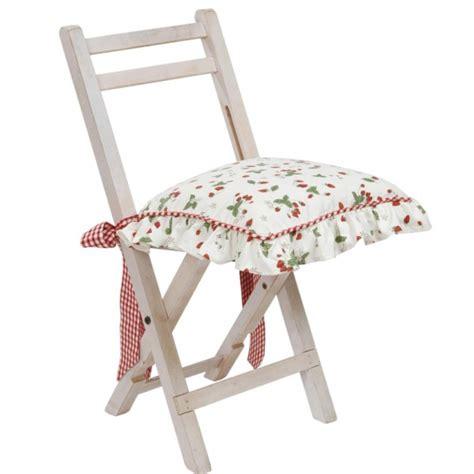 faire des galettes de chaises galette chaise coton fraises