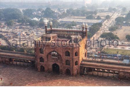 eastern gate entrance   jama masjid  great