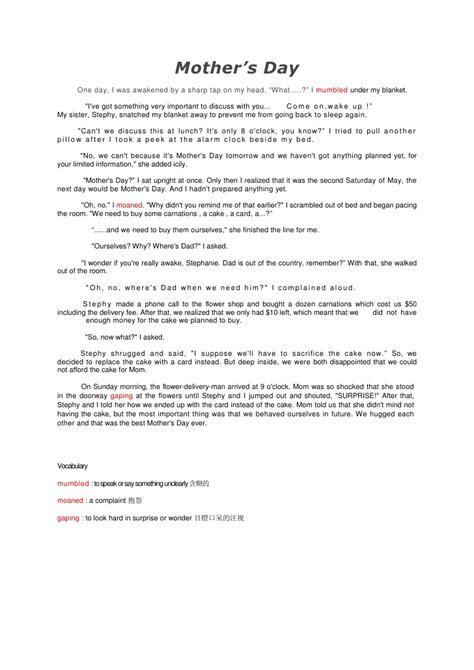 who is a mother essay mothers day essay