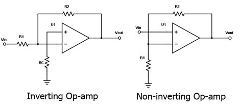 Non Inverting Amp Resistor Calculator Electrical