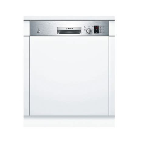 Bosch Smi50c15gb 60cm Semi Integrated Dishwasher, 12 Place
