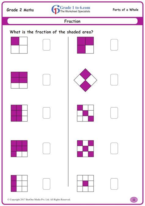 grade fractions worksheets wwwgradetocom