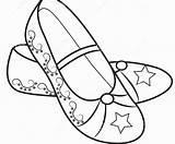 Coloring Heel Printable Shoe Getcolorings Version sketch template