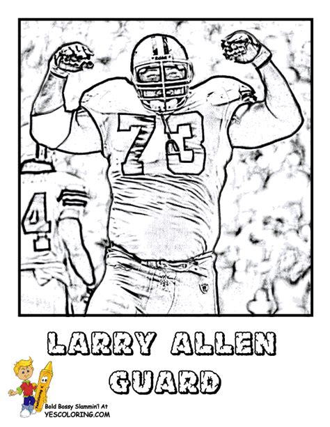 ultimate  football coloring pages yescoloring nfl sport