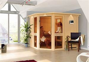 Sauna Gegen Erkältung : karibu saunen g nstig online kaufen bei gamoni karibu 68 mm system sauna amelia 3 ~ Frokenaadalensverden.com Haus und Dekorationen