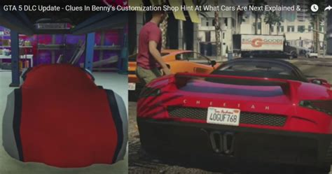 gta  dlc update fresh clues  bennys customisation