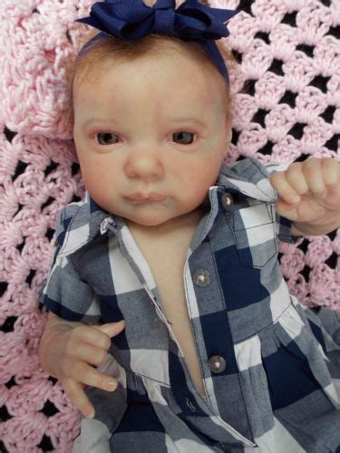 "Taking orders for march 2019 evangeline by laura lee eagles size: HTF Reborn Baby Girl Doll 19"" Aurora Sky by Laura Lee Eagles"