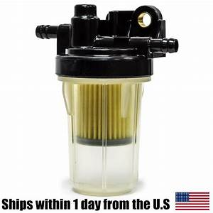 Oem Kubota Complete Diesel Gasoline Fuel Filter Assembly