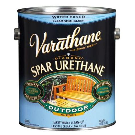 varathane 1 gal clear semi gloss water based exterior