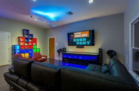 creating  basement game room  tips   examples